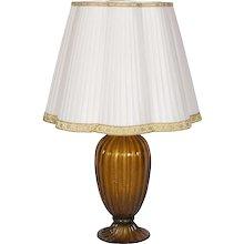 Italian Murano Table Lamp, Signed by Gabbiani around 1970s