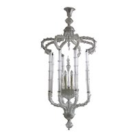 Italian Venetian Murano Glass Ca'rezzonico Chandelier, around 1950s