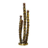 Italian Cactus Floor Lamp in the Style of Napoleone Martinuzzi Around 1950s