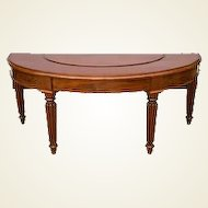 Fine Early 19th Century Regency Mahogany Hunt Table