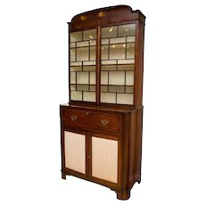 19th Century Secretaire Bookcase