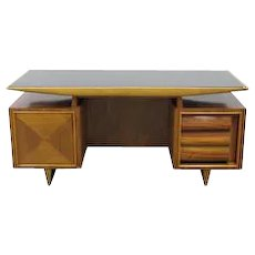 Mid-Century Modern Italian Executive Desk