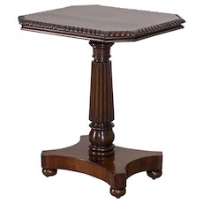English William IV Metamorphic Mahogany Table circa 1835