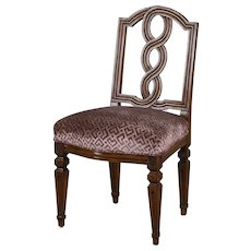 Antique Italian Neoclassical Walnut Chair circa 1780