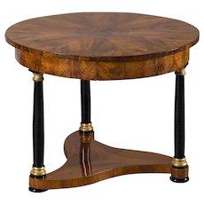 Biedermeier Period Antique German Walnut Table, Berlin, circa 1825