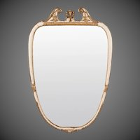 Italian Neoclassical Style Painted Mirror circa 1940