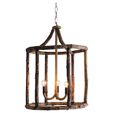 Georgian Style Rustic Timber Lantern, Holland