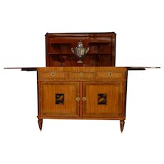"A Dutch Louis XVI sideboard ""klapbuffet"""