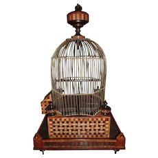 A Dutch Early 19th Century Birdcage