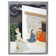 Abhisandhita Nayika- The Dejected Lover, Kangra, India, circa 1800