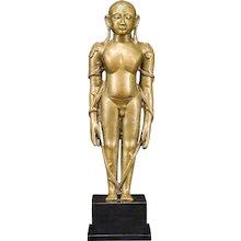 A figure of Bahubali, circa 15th century, Karnataka, India