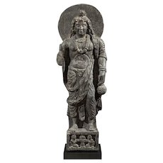 Maitreya, Bodhisattva of the future ~ Ancient region of Gandhara ~ c. 2nd/3rd century, Kushan Period