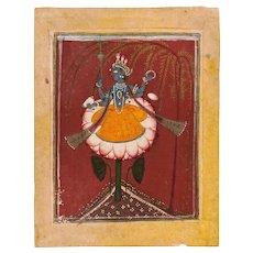 Vishnu on Lotus