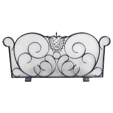 Art deco fire screen by Raymond Subes & Andre Arbus