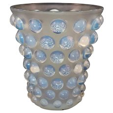Glass 'Bammako' Vase by Rene Lalique