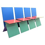 Set of Four Verner Panton Chairs