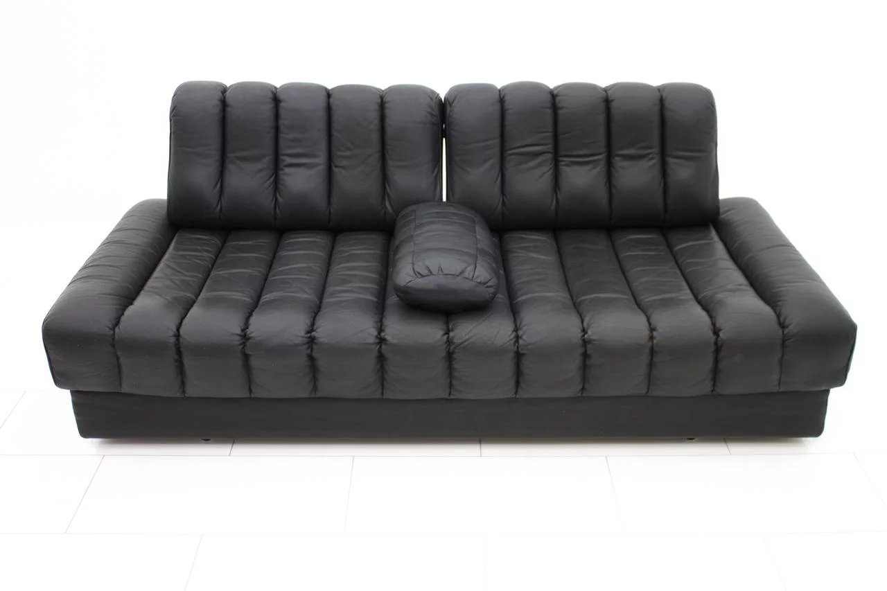 De Sede Leather Daybed and Sofa DS 85, Switzerland 1960`s ...