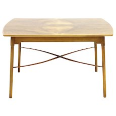 Ole Wanscher Coffee Table by Fritz Hansen Denmark 1940`s