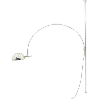 Ceiling to Floor Lamp with adjustable Arc by Florian Schulz, 1970s