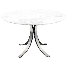 Osvaldo Borsani Dining Table with Marble Top, Tecno, 1960s