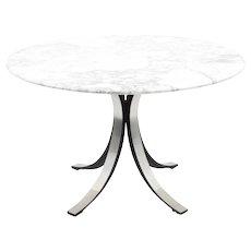 Osvaldo Borsani Dining Table with Marble Top, Tecno, 1960s
