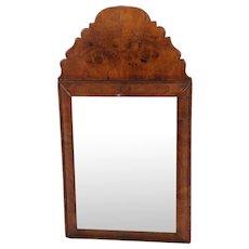Walnut Mirror of Small Size