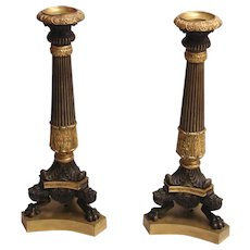 Neoclassical Style Candlesticks