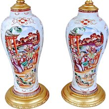 Chinese Vases as Lamps