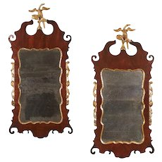 Chippendale Parcel Gilt Mirrors, 18th Century