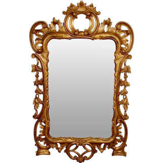 Continental Giltwood Mirror