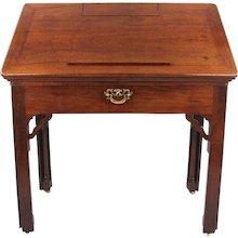 George II Mahogany Architect's Desk