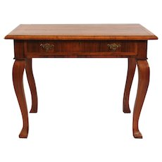 Queen Anne 18th Century Walnut Side Table