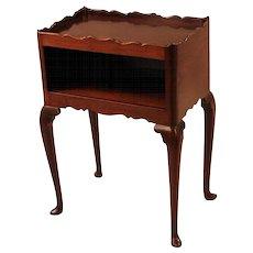 George II Walnut Bedside Table