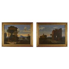 18th Century Oil Paintings in the Classical Style