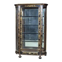 Late 1800s Chinoiserie Display Cabinet
