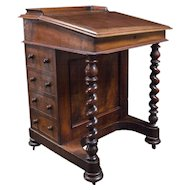Antique English Davenport Desk