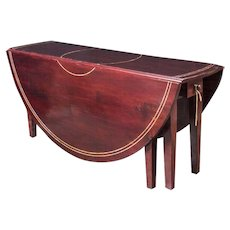 Cherry Mahogany Drop Leaf Table