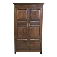 English Quartersawn Oak Wardrobe
