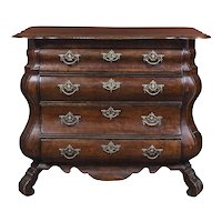 18th Century Dutch Serpentine Chest of Drawers