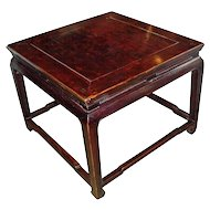 Square Chinese Coffee Table