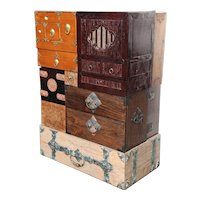 Custom Tansu Chest designed by Vicente Wolf