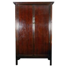 A Mahogany Armoire From China, Early 20th Century