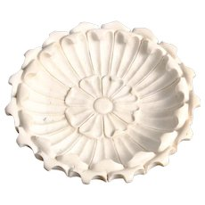 Large White Marble Bowl