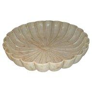 Scalloped Bowl or Basin