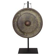 Antique Laotian Bronze Gong