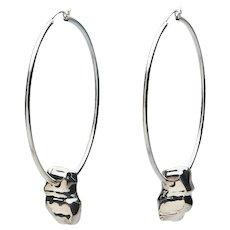 Rocca Hoop Earring