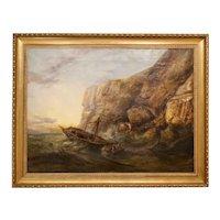 """Rough Seas off the Yorkshire Coast,"" by Ralph Reuben Stubbs"