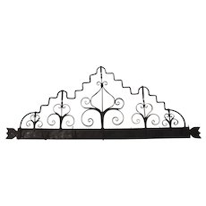 Continental Wrought Iron Utensil Rack