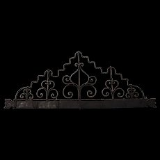 Continental Wrought Iron Utensil Rack
