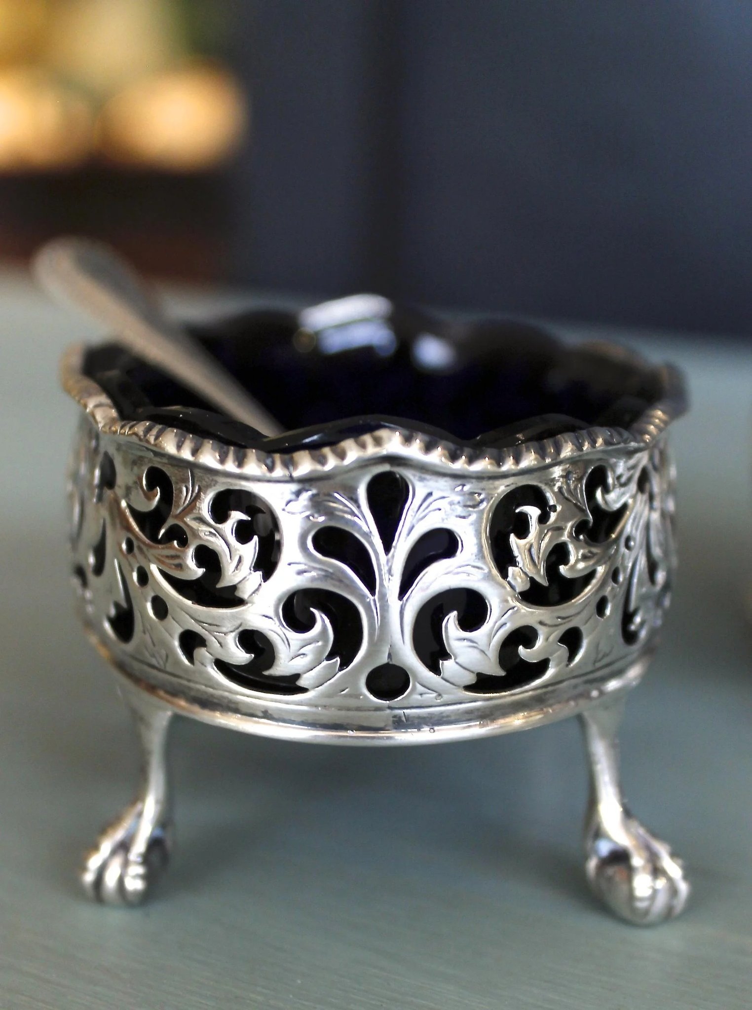 Pair Of 18th Century English George Iii Period Sterling